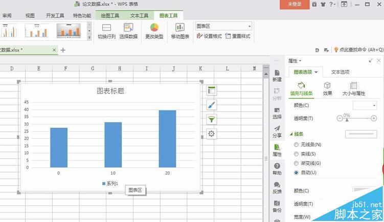 wps表格数据怎么转换成柱形图